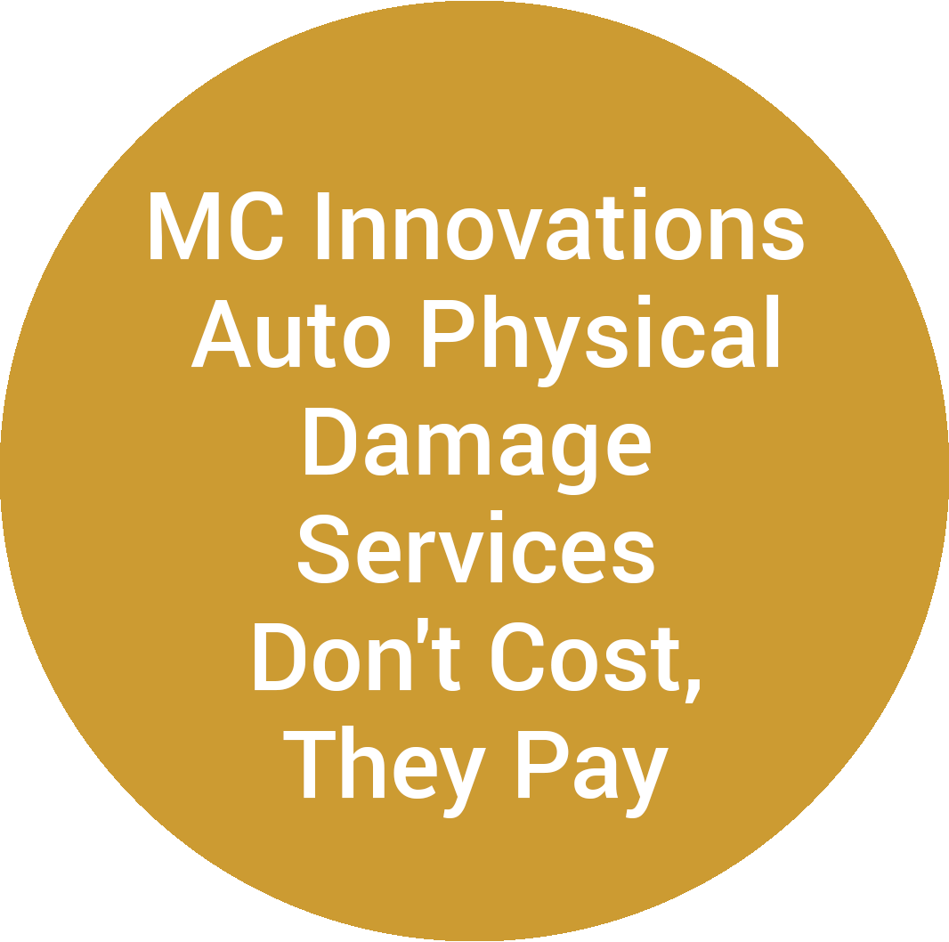 MC Innovations Auto Physical Damage Services Don't Cost, They Pay