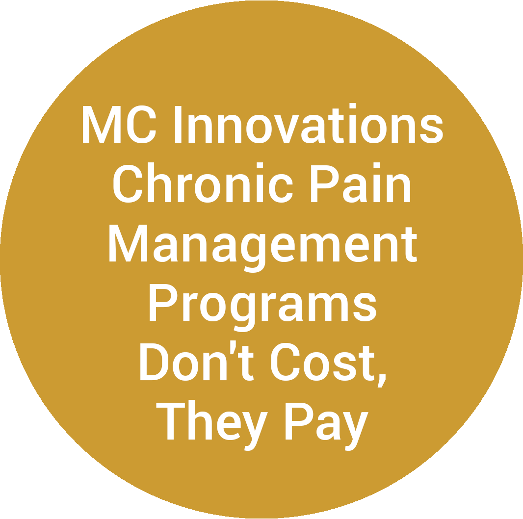 MC Innovations Chronic Pain Management Programs Don't Cost, They Pay