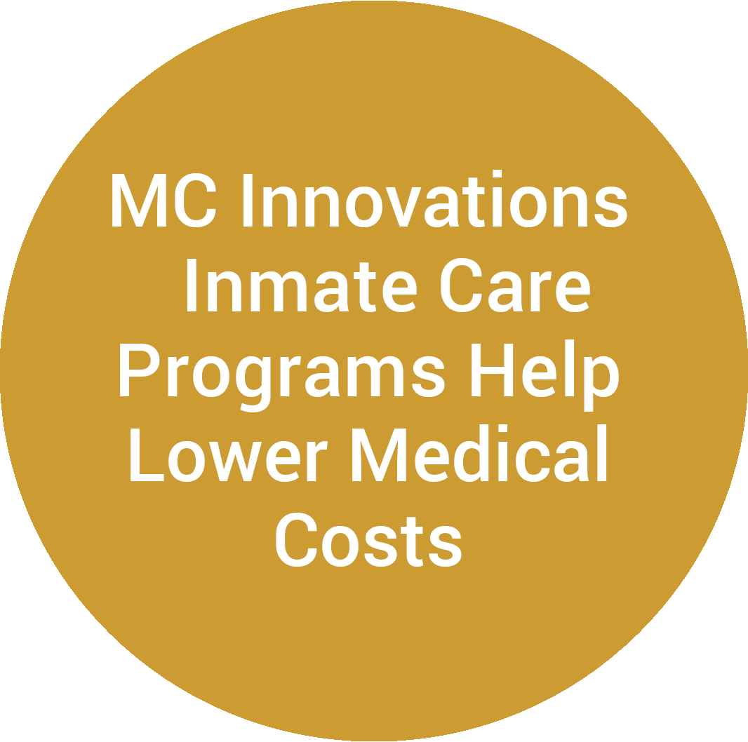 MC Innovations Inmate Care Programs Help Lower Medical Costs