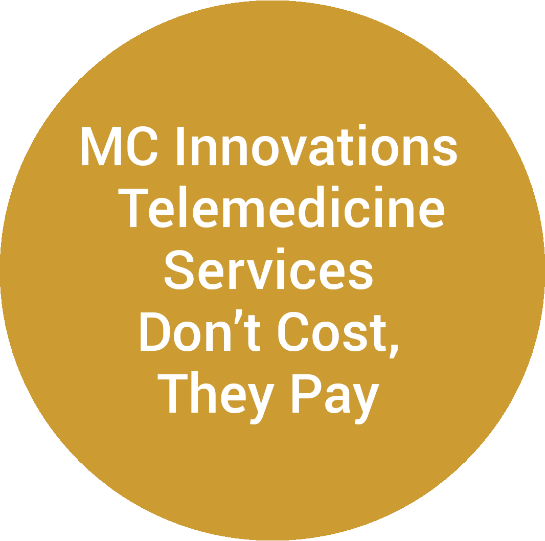 MC Innovations Telemedicine Services Don't Cost, They Pay