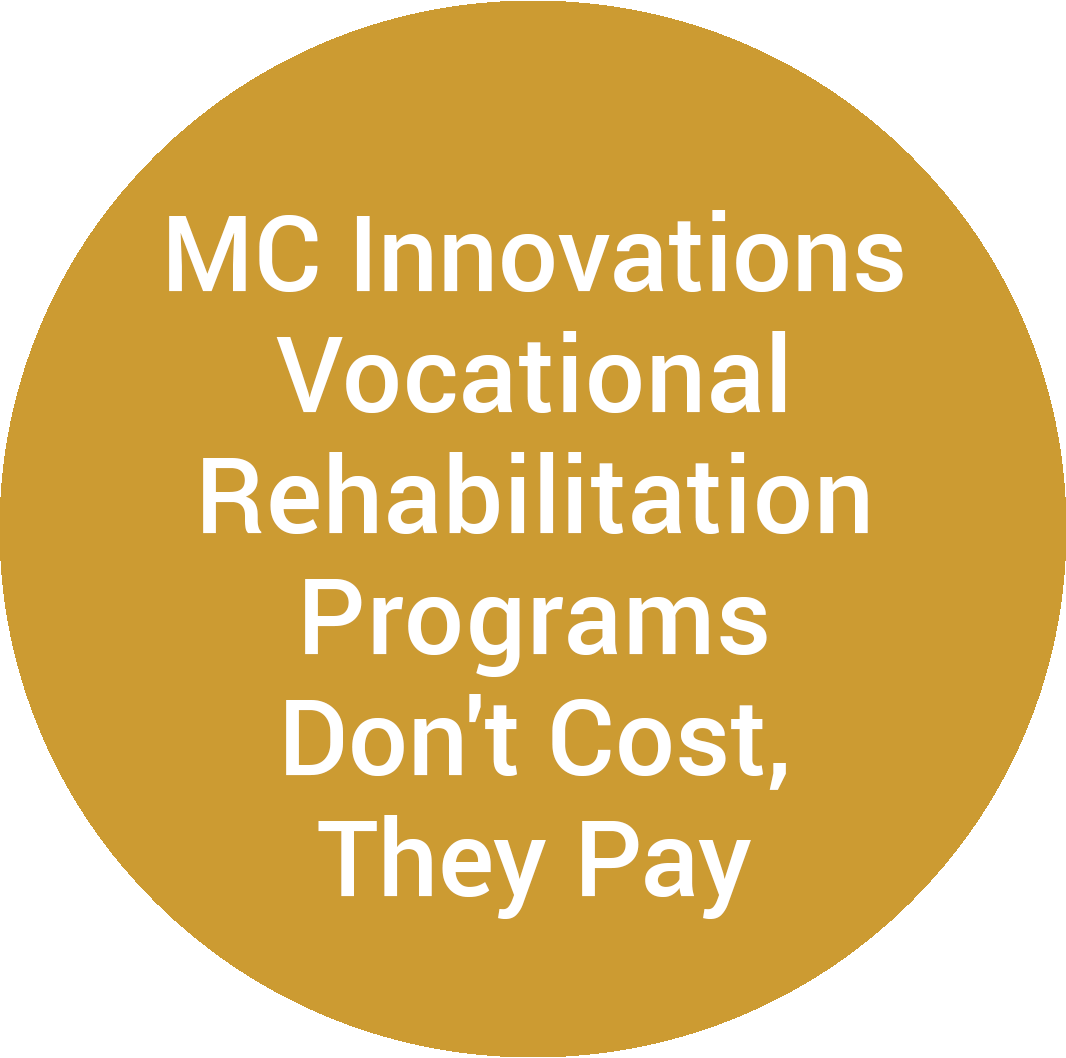 MC Innovations Vocational Rehabilitation Programs Don't Cost, They Pay